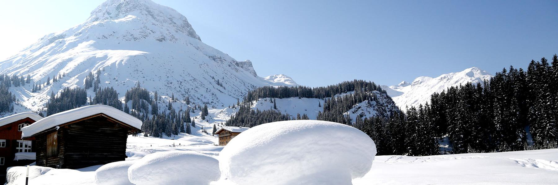Hotel Austria in Lech, Arlberg Winter